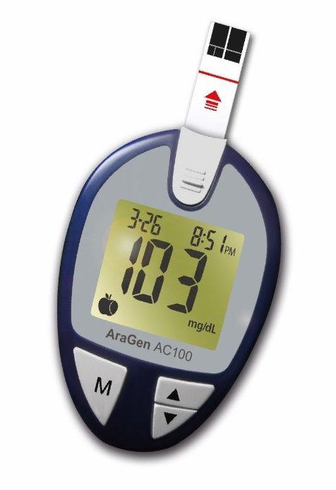 AraGen Ac100 Glucose Meter